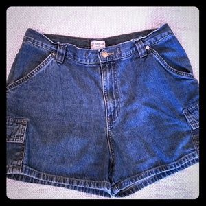 St. John's Bay 10P Jean Shorts w/Six Pockets